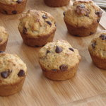 Snacky Banana Chocolate Chip Muffins