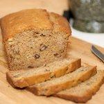 Sour Cream Banana and Walnut Bread