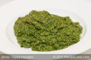 Spinach-Miso Pesto