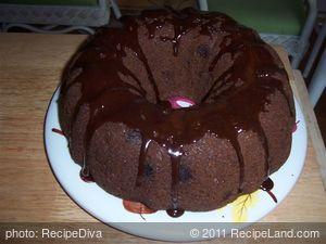 Chocolate Chip Rum Cake
