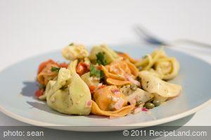 Artichoke Tortellini Pasta Salad