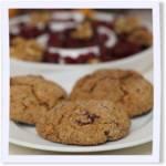 Cranberry, Orange and Nut Cookies
