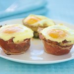 Baked Green Eggs and Ham