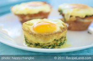 Baked Green Eggs