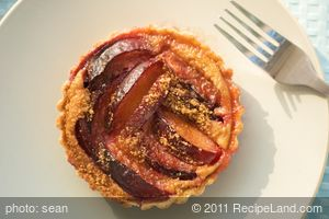 Cinnamon Plum Tart