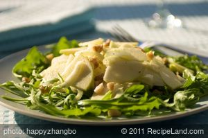 Apple and Fennel Salad with Cider Vinaigrette