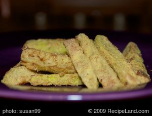 Golden Zucchini Sticks