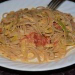 Leek and Zucchini Pasta