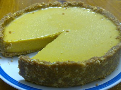 Cheeseless Pumpkin Cheesecake