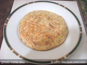 Homemade Omelette Appetizer