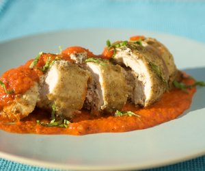 Chicken Stuffed with Goat Cheese