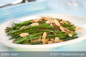 1 Pan Smoked Paprika Sautéed Green Beans