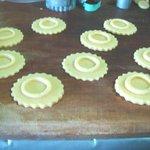 Homemade Strawberry Jam Cookies