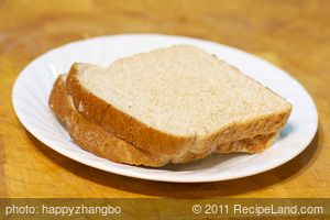 Toasts with Peanut Butter and Sea Salt