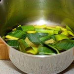 Heat the vegetable stock