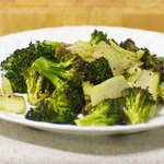 Roast the broccoli until browned and tender, 12 to 15 minutes.