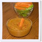 Roasted Bell Pepper and Bean Dip