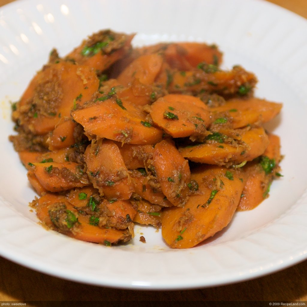African Spiced Carrots