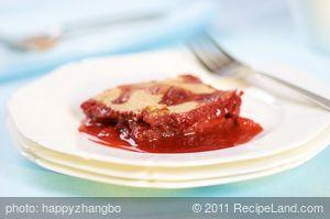 Strawberry Pot Pie