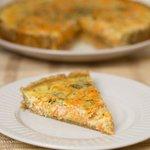 Delicious Carrot and Tarragon Tart
