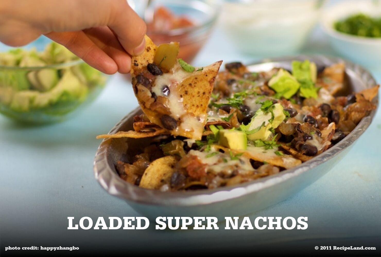 Loaded Super Nachos