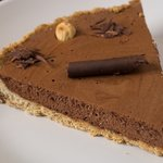 Low Fat and Whole Wheat Chocolate Hazelnut Tart