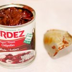 A can of chipotle peppers with adobo sauce