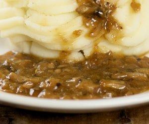 Portabella Mushroom Gravy