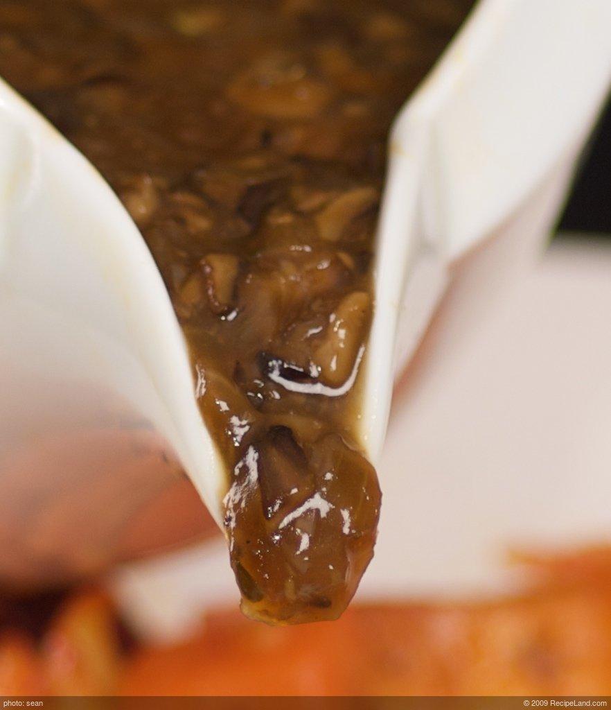 Oyster Mushroom Gravy