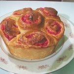 Homemade Strawberry Jam Bread