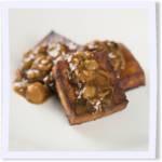 Roasted Tofu With Oyster Mushroom Gravy
