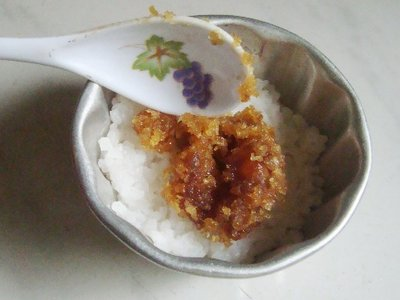 Homemade Milk Rice with Coconut Stuffing