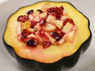 Cranberry-Stuffed Acorn Squash