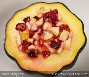 Cranberry-Stuffed Acorn Squash