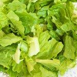Prepare the fresh lettuce...