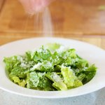Sprinkle some freshly grated parmesan...