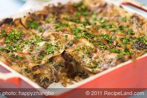 Absolutely Fab Mushroom Lasagna
