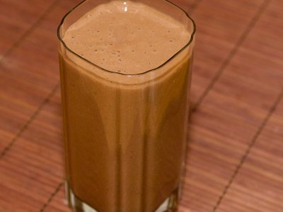 Morning Cocoa, Banana and Soy Smoothie