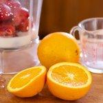 Get some fresh orange juice...