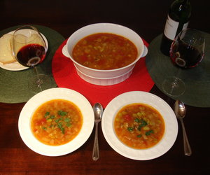 Spicy Winter Vegetable Chowder