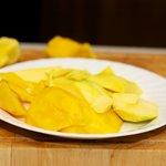 Core the mangos...