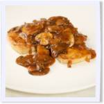 Chickenless Marsala