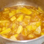 Stir until well blended, and keep simmering, when the mango reaches a jam like consistency...