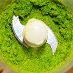 Puree the peas...