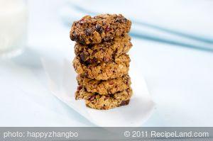 Dark Chocolate Chunks and Dried Mango Cookies