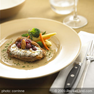 Chavrie Cranberry Turkey Cutlets