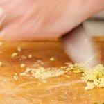 Sprinkle a bit of flaky sea salt (fleur de sel) and
