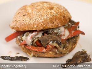 Philly Cheese Steak-less Sandwich
