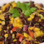 Roasted Corn, Black Bean and Mango Salad