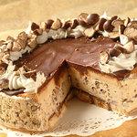 Frozen Chocolate Cappuccino Crunch Cake
